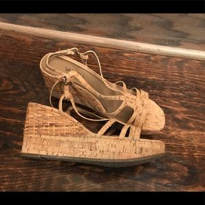 Vaneli Cork Wedge - 8 1/2 N - Never worn